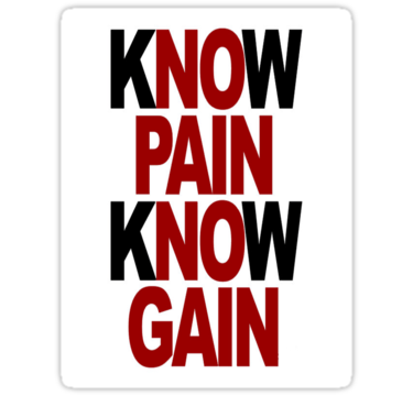 knowpainknowgain