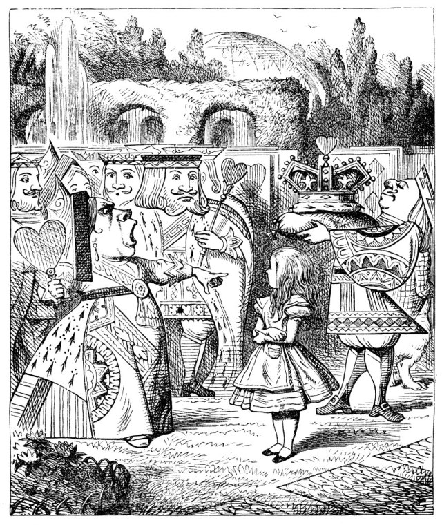 Tenniel-Alice-in-Wonderland
